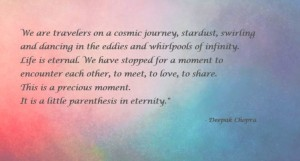 DC Quote Star Dust